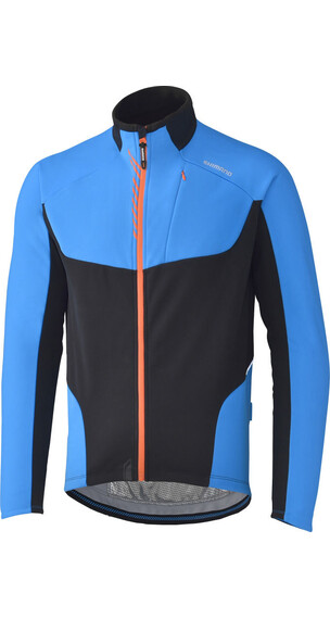 Shimano Windbreakerjacke Herren lightning blau